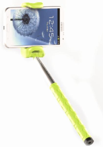 Монопод Kjstar Z06-1 (беспроводной-оригинал). (встроенная Bluetooth кнопка)  (черный, розовый)