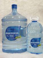питьевая артезианская вода газированная и негазированная