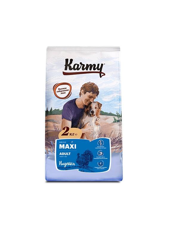 MAXI ADULT— Индейка. Корм для взрослых собак крупных пород старше 1 года.