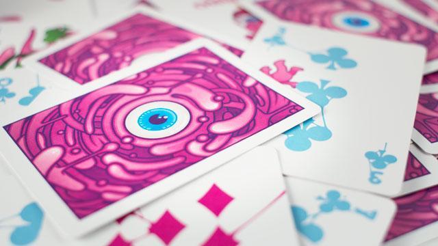 Дизайнерские карты. Оптовая цена на игральные карты от 293 рублей.