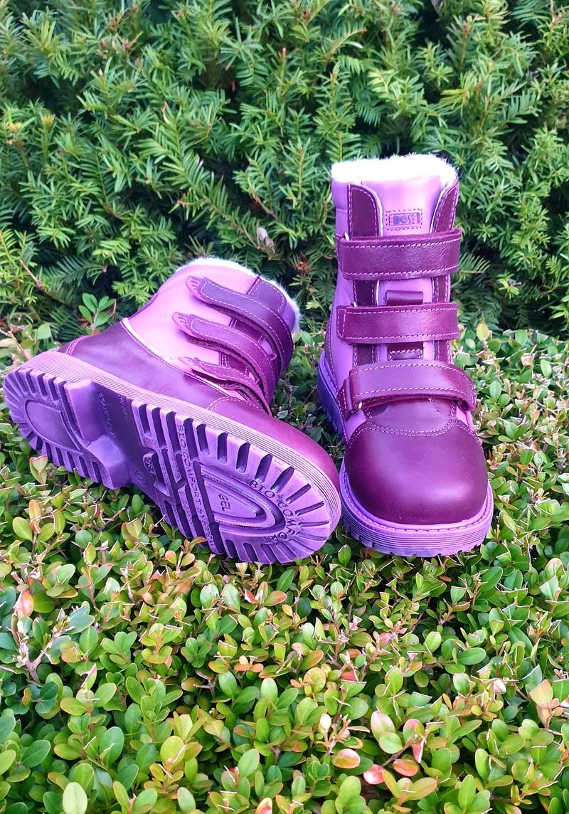 Профилактические ботинки. Натуральная кожа снаружи, внутри итальянская байка или мех. С 26 по 40 р