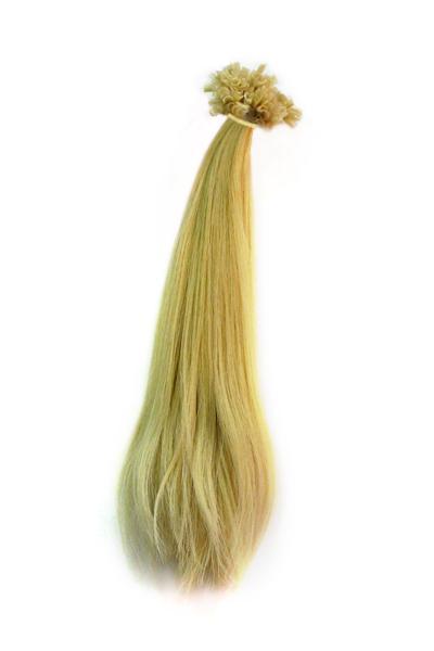 Славянские волосы на кератиновой капсуле.