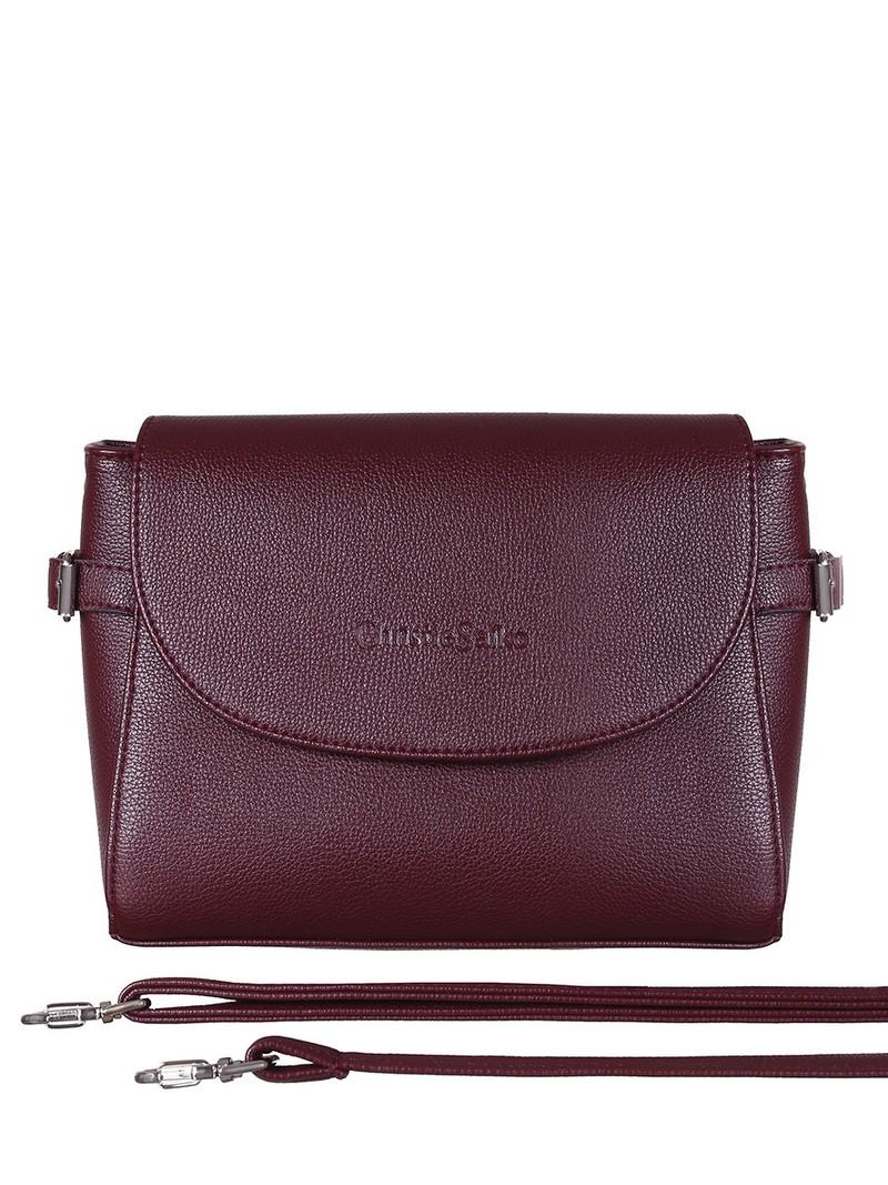 Женская сумка Christie Saiko SU4357 винный