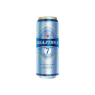 Пиво Балтика №7 0,45л ж/б