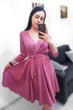 Платье на запах Benni (Арт. R46) чайная роза