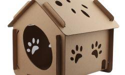 Стильные домики из картона