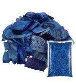 Щепа декоративная синяя Мульча+