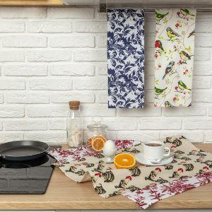 """Полотенце кухонное принт, 100% хлопок, PROVANCE """"Настроение"""" Кухонное полотенце изготовлено из качественного материала. Полотенце очень практично и неприхотливо в уходе. Оно отлично впитывает влагу, быстро сохнет, сохраняет яркость цвета и не теряет форму после многократных стирок. Высокое качество материала, из которого изготовлено полотенце, не оставит вас равнодушными."""