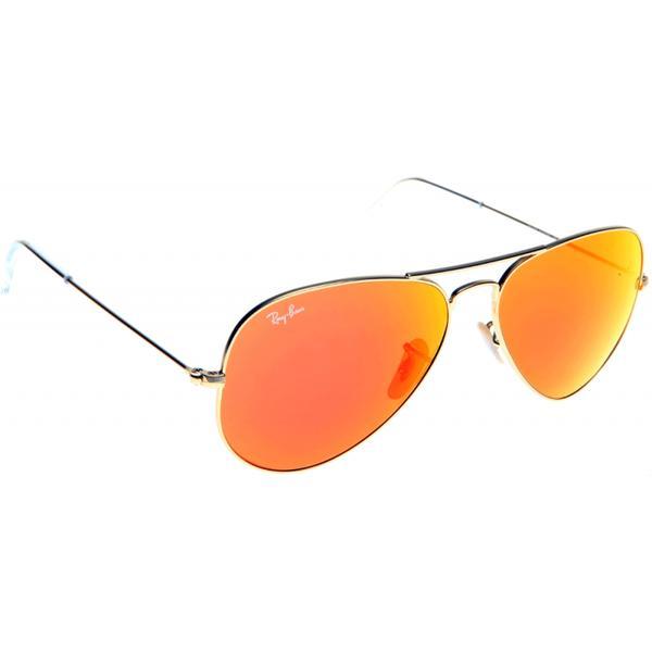 Очки RAY BAN AVIATOR. Материал линз: Минеральное стекло Цвет линз: Синий, оранж, прозрачный, классик, зеркальный  Материал оправы: Металл  Цвет оправы: Золотой Технология оптики: Зеркальная