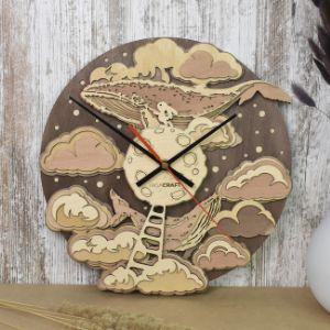 Часы настенные «Луна»