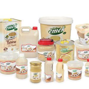Тахин (Кунжутная паста)  Различная емкость и материалы для упаковки.