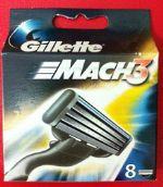 Сменные кассеты Gillette Mach3 (8) 3