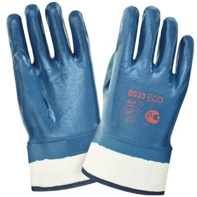 Перчатки нитриловые, крага - 65р