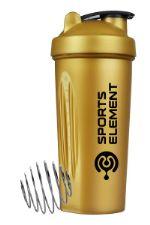 """Шейкер Sports Element S01-600 Спортивный шейкер 600 мл. """"Золото"""" арт. 00153 00153"""