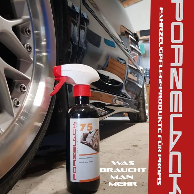 Wisch & Glänz 75, Средство для быстрой отчистки ЛКП от легких загрязнений Porzelack