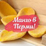 замороженные тропические фрукты (манго, маракуйя, папайя)