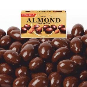 Миндаль в шоколаде Lotte, 86 г.