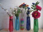 Удобная ваза - складная ваза для СРЕДНИХ цветов 24-15