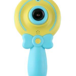 Фотоаппарат для детей Храктеристика устройства: Дисплей2,0 дюймов ФункцияФото и видео, селфи Разрешение фотографий0,3 м Разрешение видео0,3 м Емкость батареи:220 мА-ч Время зарядки4-5 часов Максимальная поддержка32 Гб Технические характеристики: Дисплей: 2,0 дюймов Разрешение 720*320 Датчик пикселей: GC0308 CMOS/300000 пикселей сенсор/до 12 миллионов Объектив: объектив с фиксированным фокусом F/2,6 F = 5,0 Диапазон фокусировки: 0,5 мм/Бесконечность Изображения: JPG 3 м/2 м/1,3 м/VGA Видео: JPEG VGA/720 P/1080 P Непрерывная съемка: открыть/выключить Метод съемки: выключение/Автоспуск (2 s)/селфи (5S)/селфи (10 s) Автоматическое выключение: выкл/1 мин/3 мин/5 мин Хранение: tf-карта (не входит в комплект) Интерфейс ПК: USB 2,0 Источник питания: 1 * Встроенный полимерный аккумулятор (3,7 в 400 мАч) Язык: английский/французский/китайский/японский/Корейский/итальянский/немецкий/Чешский/русский/тайский Размер изделия: 8,0*4,6*4,5 см Особенности: 1. Милая цифровая камера для детей: милый и яркий цветной дизайн, привлекательный для детей, плюс прилагаемые Мультяшные наклейки для поделок, детям понравится с первого взгляда. 2. Фотографирование и Запись видео: с 2,0 дюймовым ЖК-дисплеем, GC0308 cmos-сенсором и встроенным микрофоном, он может не только делать красивые фотографии, но и записывать яркие видео. 3. Простое и забавное управление: всего 5 кнопок управления, легко для детей в эксплуатации; поддерживает специальные эффекты, рамки для фотографий, эффекты фильтра и некоторые простые игры, что делает его более интересным для игры. 4. Прочный и водонепроницаемый: высококачественный пластиковый корпус, прочный и водонепроницаемый; поставляется с ремешком для детей, чтобы повесить камеру на шею, чтобы предотвратить случайное падение или потерю.