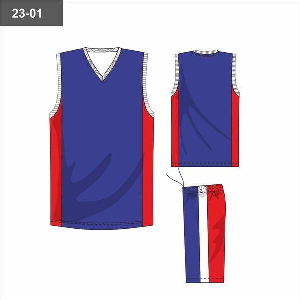 Баскетбольная форма 860 руб.