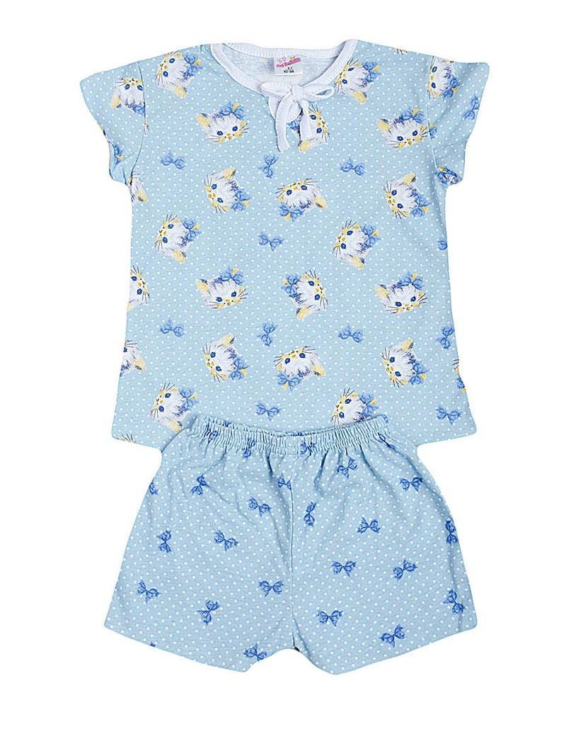 Легкие пижамы для девочек, кулирка 100%хлопок Цена 180 рублей Возраст от 3 до 7 лет