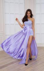 Платье Mira Sezar Алана (фиалковый) Алана