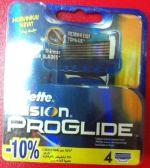 Сменные кассеты Gillette Fusion Proglide (4) 16