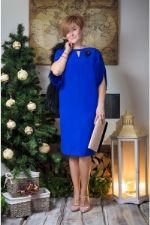 Синее платье 481 Erika-style