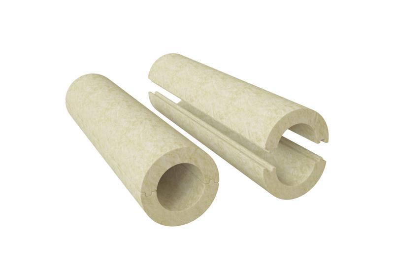 Цилиндры ИЗОЛИН RW. Теплоизоляционные изделия из минеральной ваты на основе базальтовых пород  без покрытия