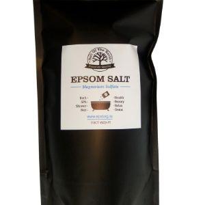 Английская соль (эпсомская соль, горькая соль) оптом для тела и принятия ванн