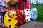 детские 3Д чемоданы с Лего