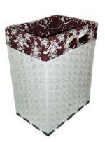 Оригинальные плетеные корзины для белья/игрушек (Объем 24л) КБ-024