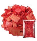 Щепа декоративная красная Мульча+