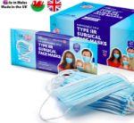 Медицинские одноразовые трехслойные маски Medex MediMask Type IIR EAN-4667153776720