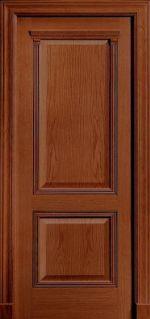 Межкомнатная дверь Luvipol Master Century Sapely Красное дерево (глухая)