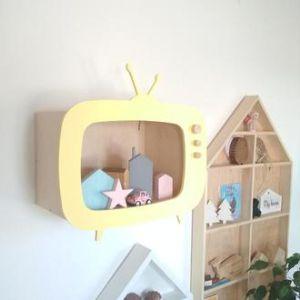 Полка для детской комнаты из фанеры