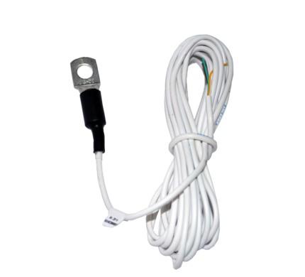 ДАТЧИК ТЕМПЕРАТУРЫ MIELTA Предназначен для измерения температуры в местах крепления датчика. Датчик измеряет температуру и передает данные в цифровом виде по интерфейсу 1-wire. •стабилизирует для себя питание, что делает возможным подключить к любой бортовой сети напряжением от 10 до 36 В. •отличие от аналогов, датчик температуры Миелта, питается от общей бортовой сети. Характеристики  Напряжение питания 12 — 24 В  Потребляемый ток 3 мА  Цифровой интерфейс 1-Wire  Температура эксплуатации -40 — +100°С  Точность измерения +/- 1 °С  Степень защиты IP66  Вес 30 г