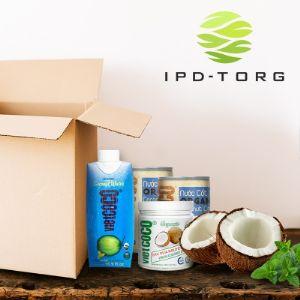 Органические продукты из кокосового ореха