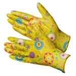 Перчатки нейлоновые с рисунком