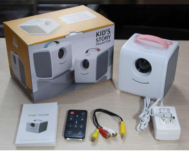 Детский портативный проектор Q 2
