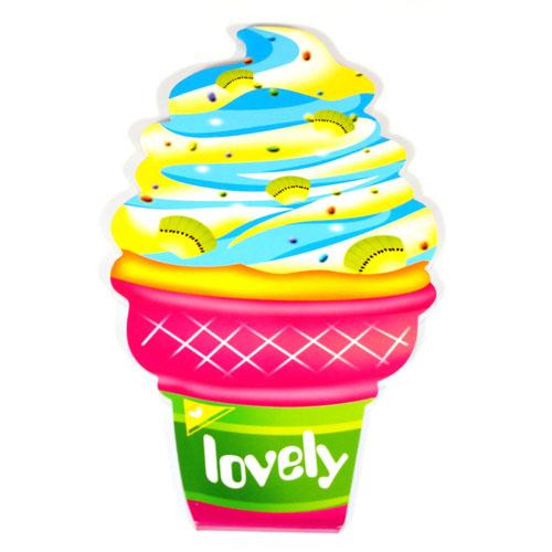 """Блокнот с отрывными листочками """"Мороженое Lovely"""" 14*8,5 см, 40листов"""