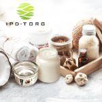 Органические и натуральные продукты из кокосового ореха