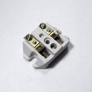 керамическое основание с пружинной контактной системой из латуни