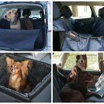 Автогамак для перевозки животных в автомобиле.