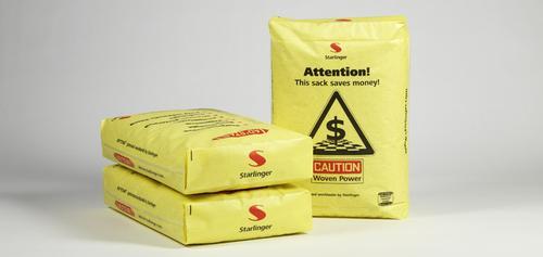 AD*STAR®- известный во всем мире клапанный мешок коробчатого типа из полипропиленовой ткани с покрытием