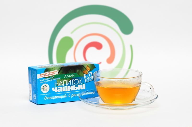очищающий чай алтай