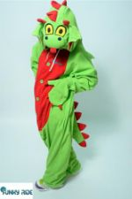Костюм кигуруми Арбузный Дракон WOTERMELON DRAGON KIGU Dragon_GRM-KIGU-FLS-USX