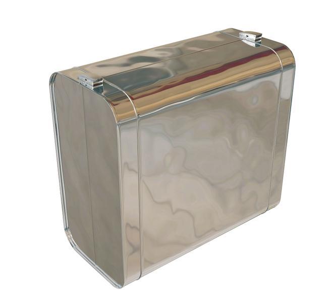 КОРОБ на арматуру ZNA/ALA/SSA. Формованное металлическое  покрытие, представляющее собой готовый к монтажу короб, состоящий из двух частей, с необходимыми зигами и специальным замками-защелками, для жесткой и надежной фиксации частей короба.