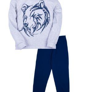 Пижамы для мальчиков с яркими рисунками на манжете Сшиты из мягкой и гладкой ткани, интерлок  Цена 280 руб Возраст от 6 до 9 лет