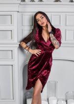Платье Mira Sezar Лири (бордовый) Лири